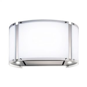 Coifa Elettromec Arcobaleno Ilha Inox e Vidro Branco 70cm 220V